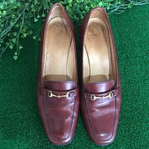 Gucci Brown Leather Loafer Sz 35.5B